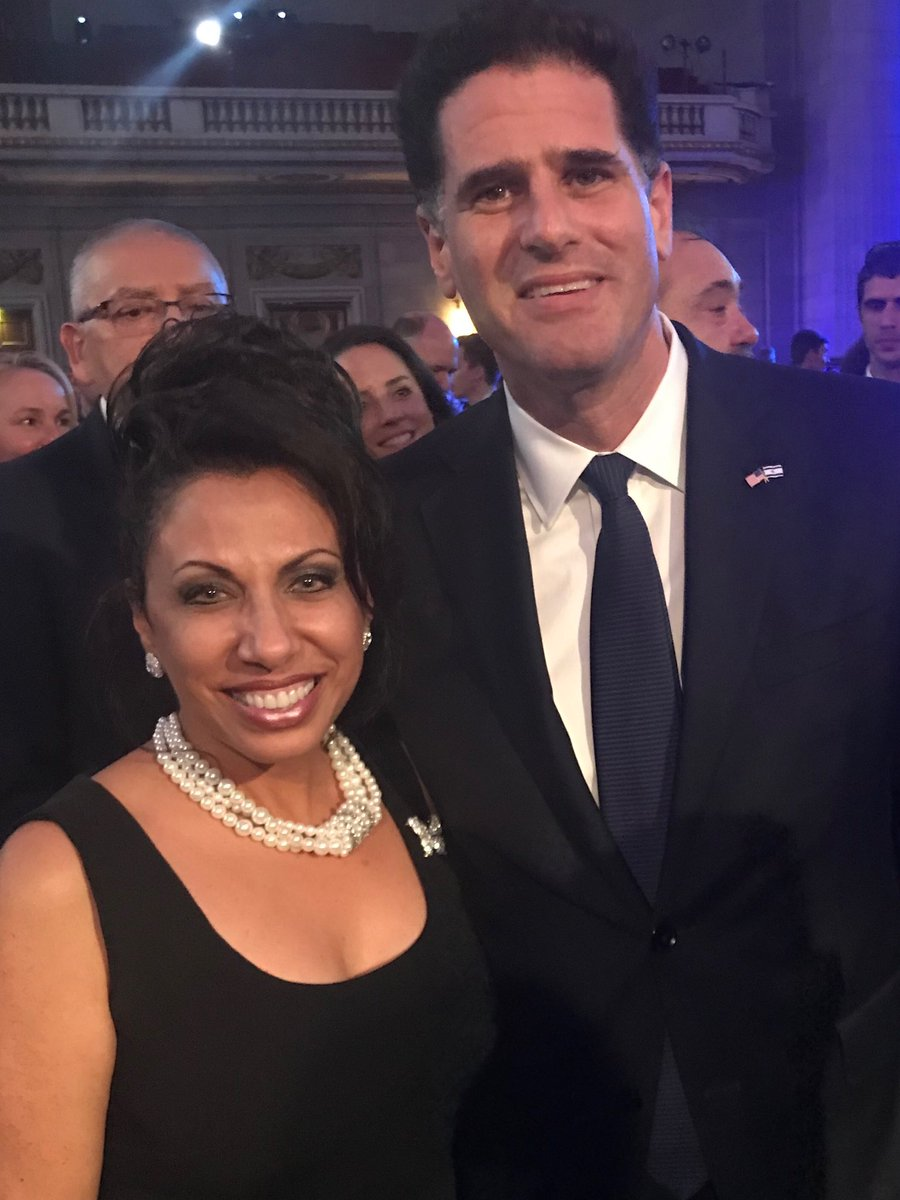 Celebrating Israel's 71st anniversary of their independence!  Ambassador Ron Dermer is doing great things for US-Israeli relations!