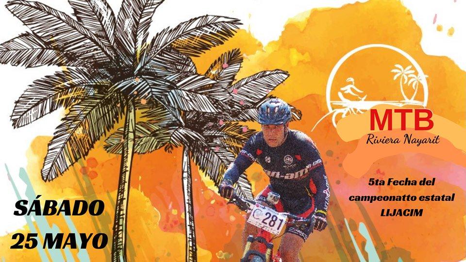 Todo listo para el @RivieraNayarit #MountainBike 2019 Una intensa competencia de #ciclismo única en #México que combina playa y montaña. 🚴♀️Carrera #MTBRivieraNayarit - 6 Km 📍@FonaturMX #Litibú 🗓25 Mayo 2019 Parte del Serial Nacional @LIJACIM http://bit.ly/MTBRivieraNayarit2019… #FelizJueves