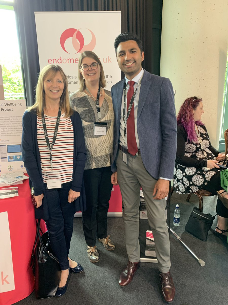 Lovely talking to @msemmacox from @EndometriosisUK Great to hear about all the exciting work the charity are doing. Looking forward to working together to reduce the delays to diagnosis @morris_ep @NNUH @horne_research