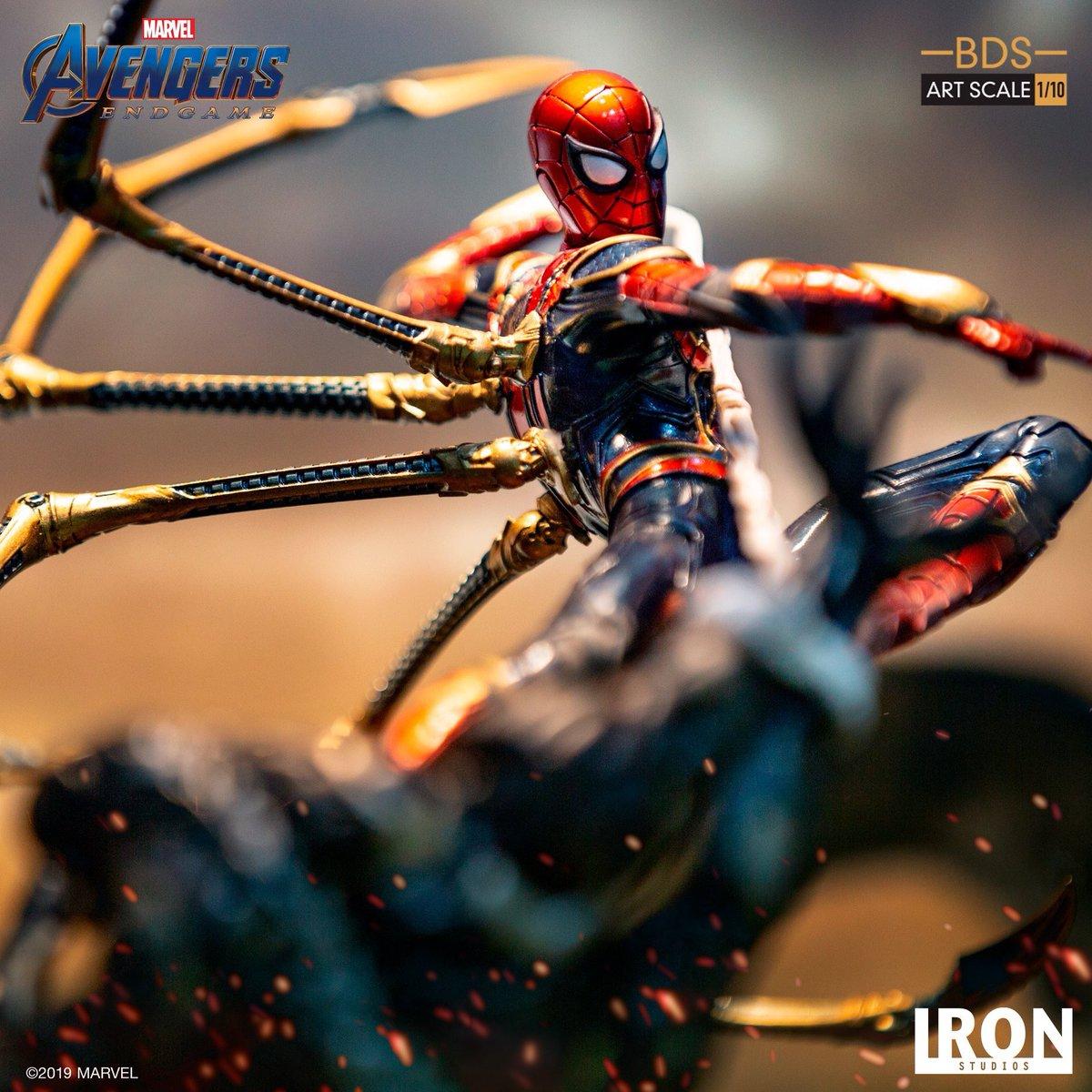 Iron Spider Vs Outrider BDS Art Scale 1/10 - Avengers: Endgame  by ironstudios #AvengersEndgame  <br>http://pic.twitter.com/TEGSP9QVzH