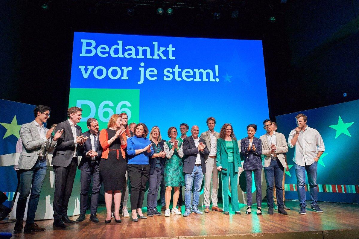 test Twitter Media - De voorlopige uitslag valt niet mee voor D66. Twee zetels is een teleurstelling. Felicitaties natuurlijk voor de PvdA.  Het goede nieuws van vandaag: het pro-Europese geluid wint van de eurosceptici. Ik ben heel trots op de positieve campagne die D66 heeft gevoerd! https://t.co/MT1NfUwNsn