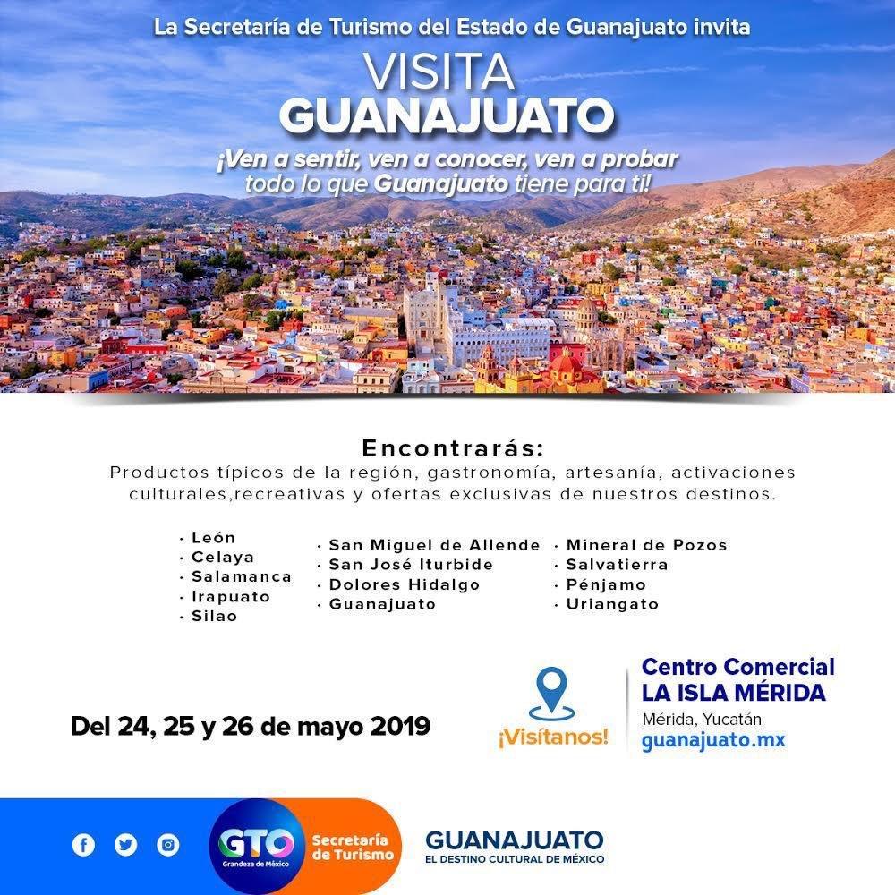 Yucatan Turismo On Twitter Guanajuato En Mérida Los Invitamos A