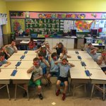 Image for the Tweet beginning: First graders raise awareness to