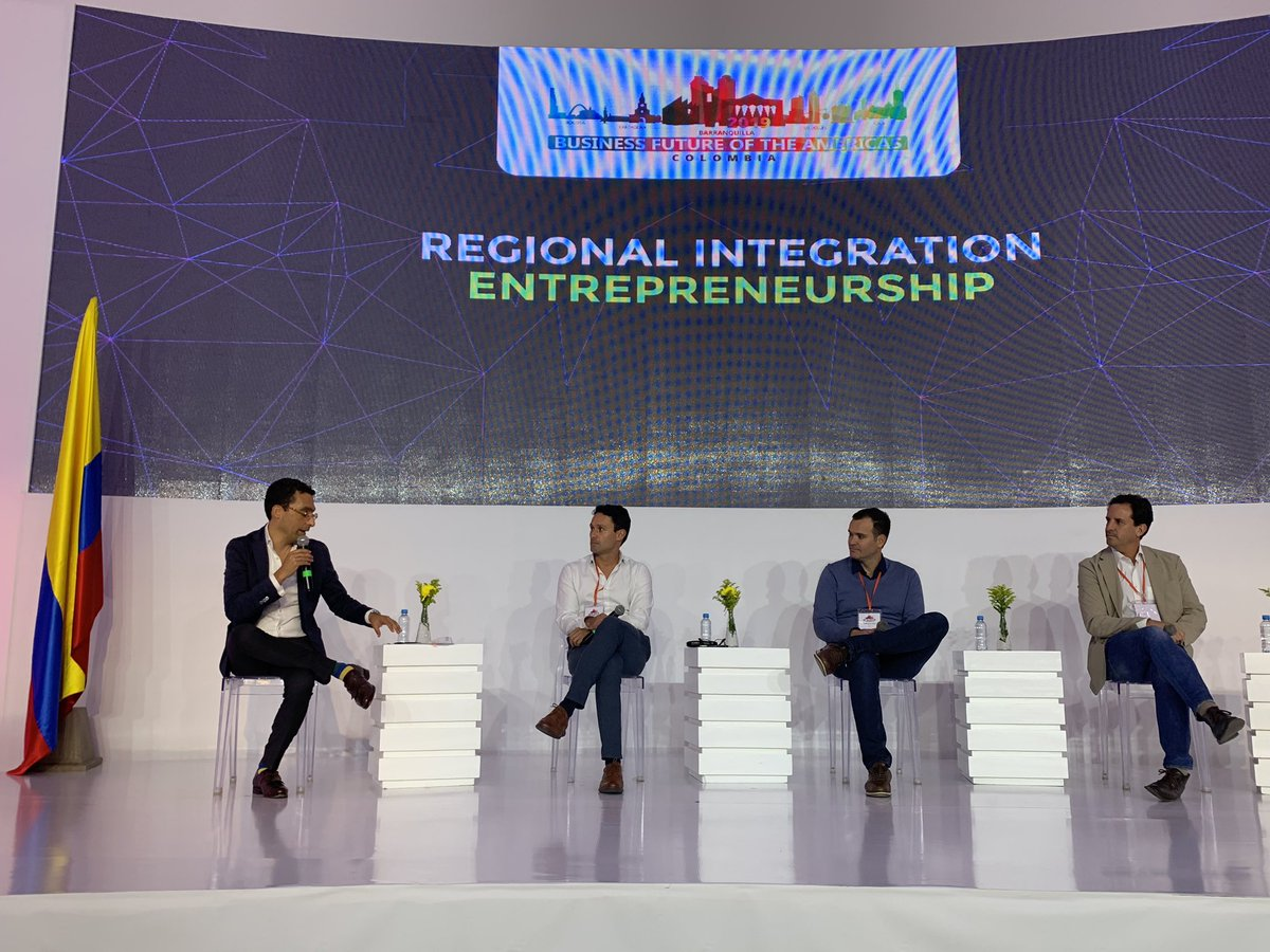 test Twitter Media - Panel on regional entrepreneurship. The region is ready to grow. Our next step is to create an ecosystem of mentors. #BFA2019 @AmChamCol https://t.co/dRzB6vsi1T