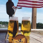 🇺🇸All American weekend starts with two lagers being freshly tapped! Classic Lager and James City Export Lager are back in the game! Come celebrate this weekend with us!