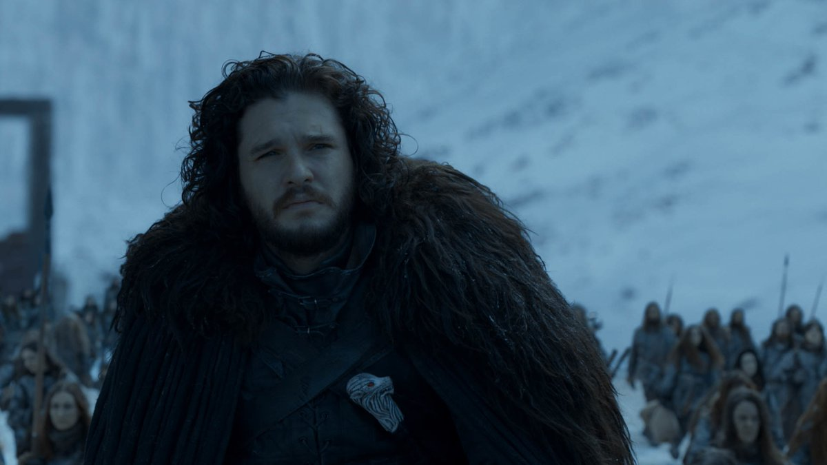 Jon Snow never wanted to be King of Westeros. While saying goodbye to Tormund in S8 E4, Jon said he wished he was going north with the Free Folk. Birthright means nothing to the Free Folk, a concept thats tormented him his whole life. After all these years, Jon is free