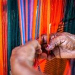 Image for the Tweet beginning: Wayúu textile art tells handwoven