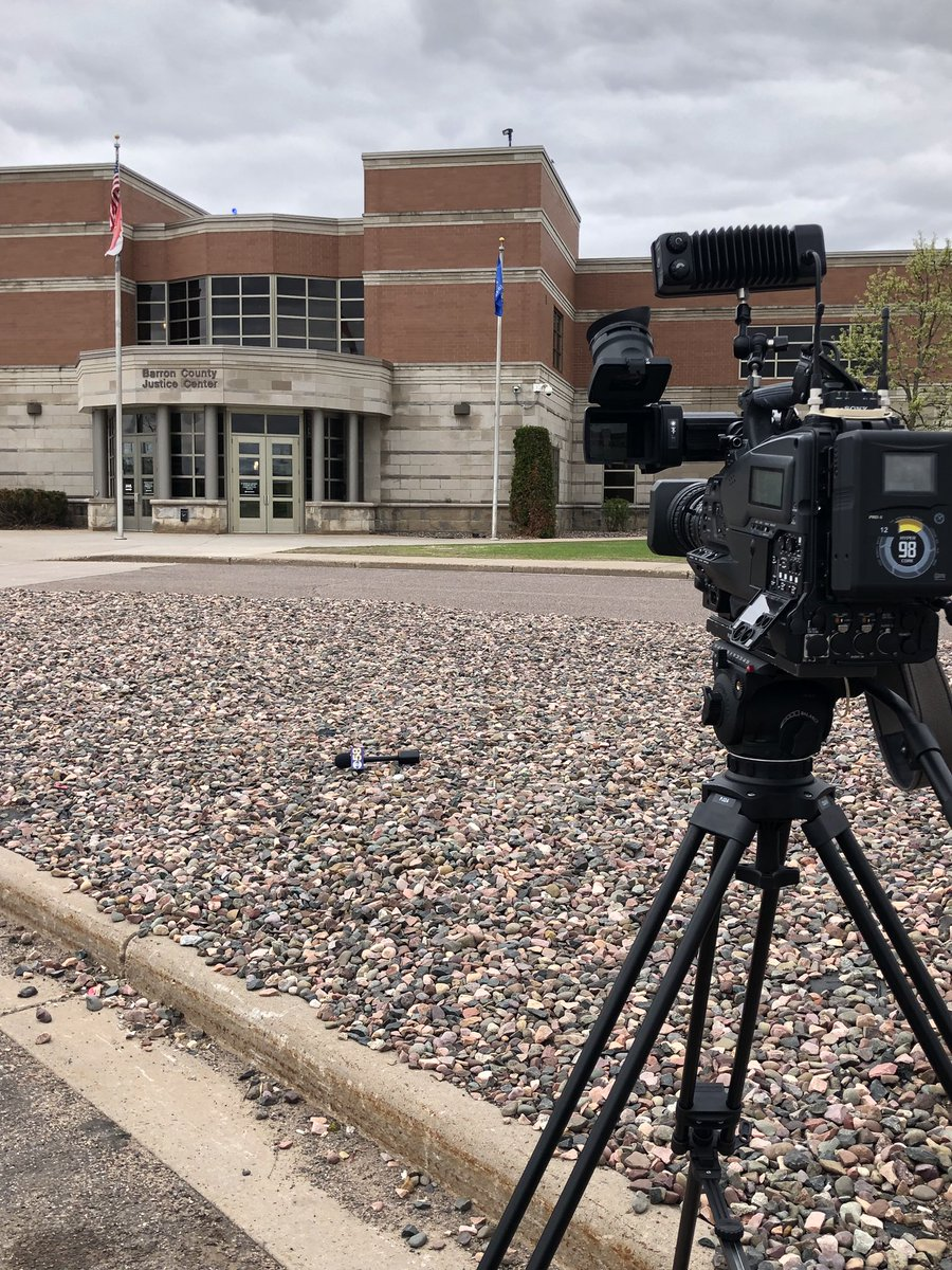 We're in Barron tonight ahead of tomorrow's sentencing of Jake Patterson. He kidnapped Jayme Closs after killing her parents. We have live previews coming up in a few minutes &amp; again @ 5 on @CBS58<br>http://pic.twitter.com/Y8wrkosgRb