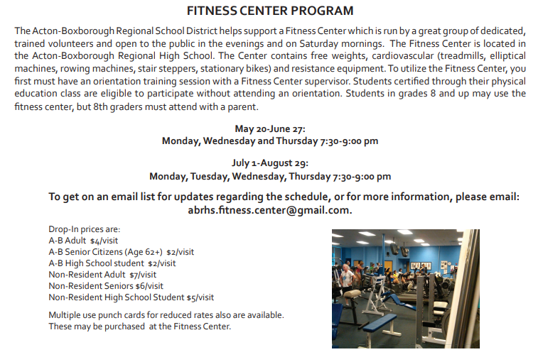 Free Talk In Acton Tuesday June 2nd By >> Ab Fitness Center Abfitnesscenter Twitter