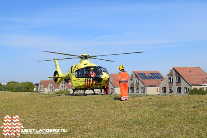 Traumahelikopter naar de Parallelweg https://t.co/fkOF8GtsBL https://t.co/8RXpbKpmoJ