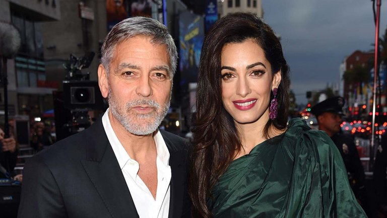 georgeclooney, hashtag on Twitter