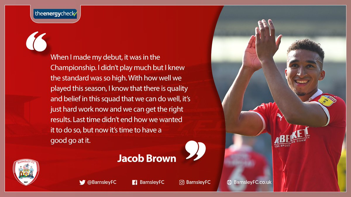 """🗣️ """"It's great to be at a club like this.""""  ➡️ http://bit.ly/BrownIntv  #WeAreGoingUp"""