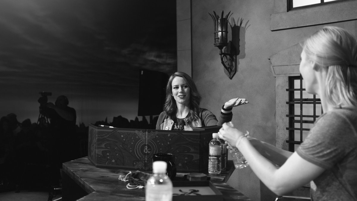 THE BIRTH OF A DM STAR!  @Marisha_Ray U were brilliant @ #DnDLive2019 Prepared for everything/anything. Guiding players with energy. Partnering them in the storytelling! Having fun! Its divine to see this epic transition. BRAVO @CriticalRole #critters @Wizards_DnD  *photosbyme <br>http://pic.twitter.com/t7I8GJntT1