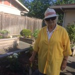 On this beautiful sunny morning, Cecile, one of our residents is busy out in the garden. You can still enjoy what you love to do after moving to Augustine House. #gardening #augustinehouse #forbetterretirementliving
