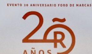 Orgullosos en #LLYC @LlorenteyCuenca de @BrandsofSpain y de su papel en apoyo a las marcas internacionales españolas Felicidades en su XX Aniversario y muy agradecidos a los fundadores  #20añosFMRE