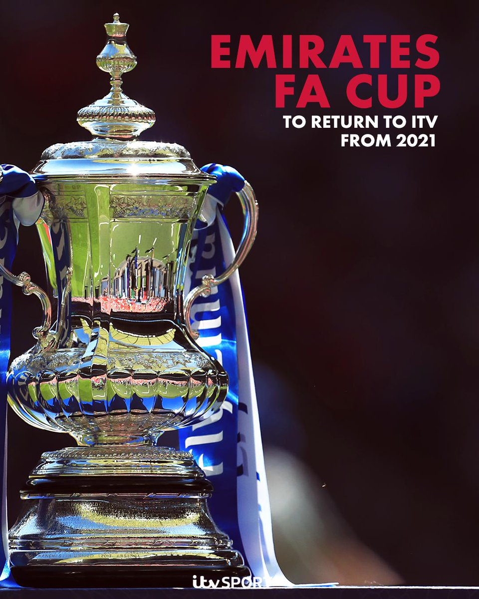 ICYMI:  @ITV has announced a new broadcast deal to show the @EmiratesFACup from 2021  https://www.itv.com/news/2019-05-23/itv-announces-new-emirates-fa-cup-broadcast-deal/ …