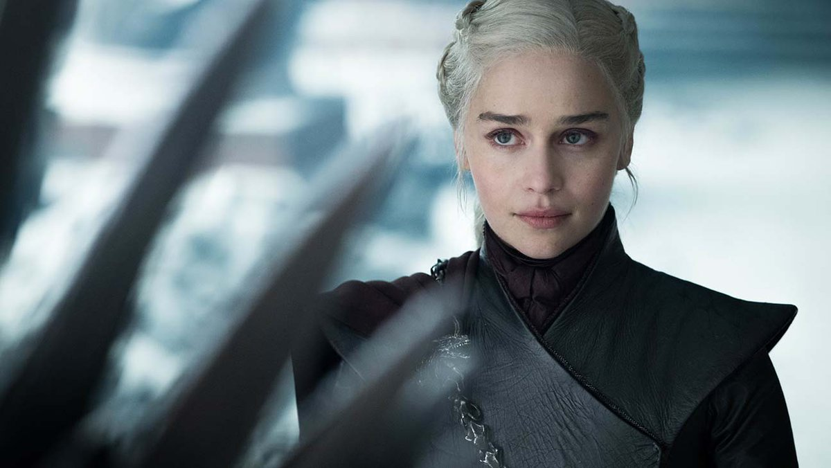 """""""Most people don't have the mother of dragons' shoes to walk in to help them get out of it, and those are the people I speak to now."""" #GameOfThrones&#39; @EmiliaClarke says Daenerys Targaryen saved her during her struggle – and now she's paying it forward  http:// thr.cm/EAbDRk  &nbsp;  <br>http://pic.twitter.com/q6ZkGxkfgn"""