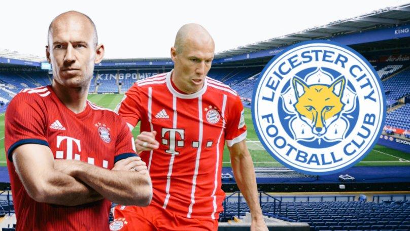 BOMBAZO!  Desde esta mañana esta sonando muy fuerte el fichaje de 🇳🇱#Robben(35) (ex 🇩🇪#Bayern) por el 🏴#Leicester. Tremenda alegría se llevarían los Foxes.