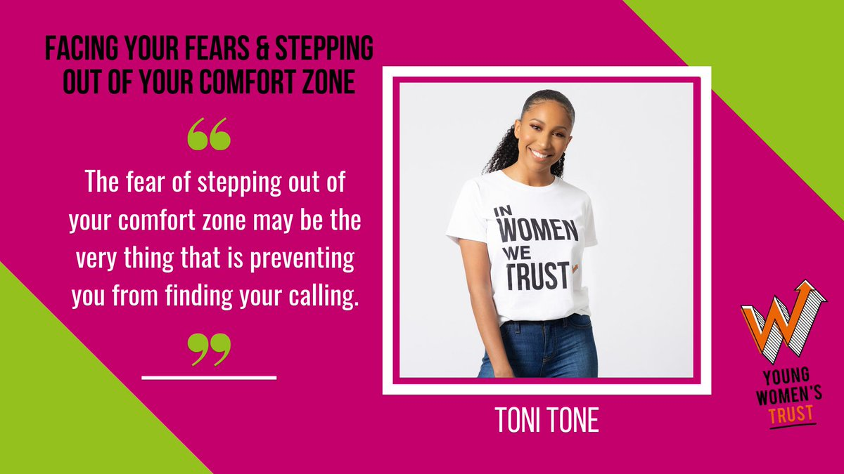 ❤️ Our wonderful Ambassador @t0nit0ne wrote this important blog about facing your fears and stepping out of your comfort zone, reflecting on her own experiences and listing some useful tips! Check it out 👌  https://www.youngwomenstrust.org/what_we_do/media_centre/blogs/981_facing_your_fears_and_stepping_out_of_your_comfort_zone…