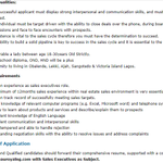 Top story: @Great_blogging: 'Chateau Royal Real Estate Limited Incorporated is in need of a Sales Executive - 2 positionsBA/BSc/HND Experience1 - 2 years LocationLagos ' , see more https://t.co/0CGVBsfG57