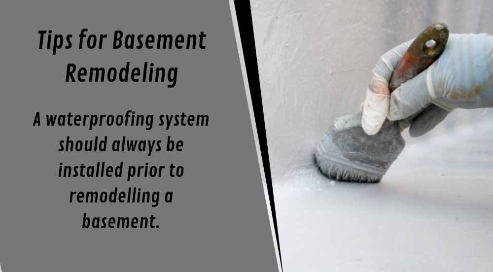 A Waterproofing System Should Always