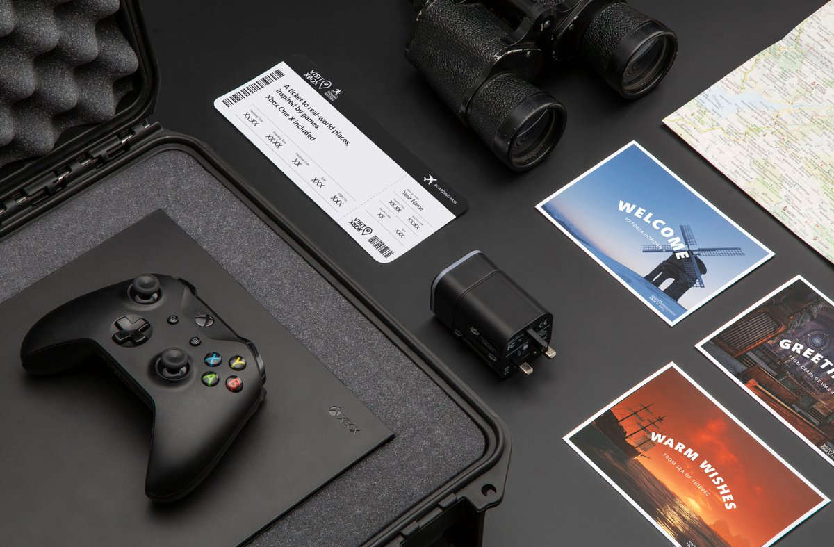 Who needs fast travel when there are sights to see?  RT for your chance to win a once in a lifetime @RoughGuides holiday as well as these great prizes:  🎮 Xbox One X 📅 12 months @XboxGamePass 🧳 Console Case ⚡️Adapter   #VisitXbox NoPurchNec: https://t.co/skyVyAIdKU https://t.co/XDNXG9e91O