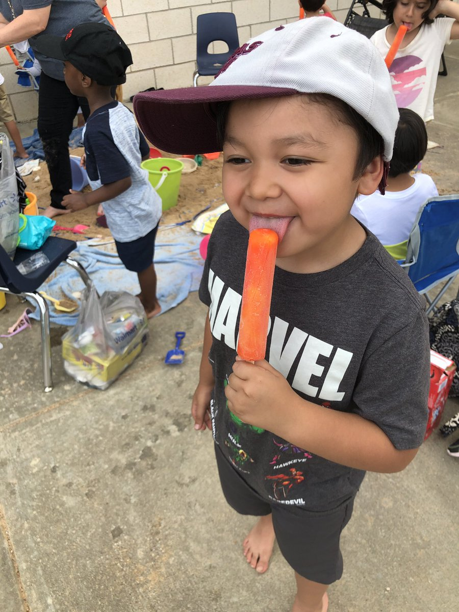 @JonesPreschool end of school party..party at the beach super fun!