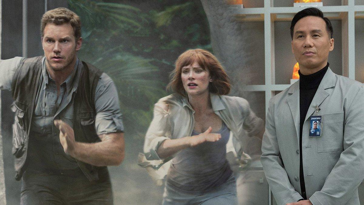 Chris Pratt, Bryce Dallas Howard, and BD Wong to Reprise Film Roles for the All New Jurassic World Ride!  https:// jurassicoutpost.com/chris-pratt-br yce-dallas-howard-and-bd-wong-to-reprise-film-roles-for-the-all-new-jurassic-world-ride/ &nbsp; … <br>http://pic.twitter.com/9LVDkwuiPw
