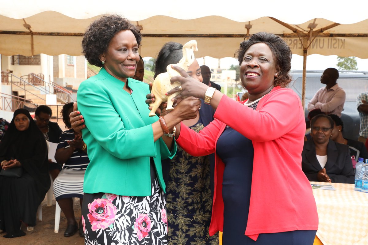 Today I welcomed Nandi County Deputy Governor Dr. Yulita Cheruiyot and Kakamega First Lady Priscilla Oparanya. The two led a delegation of women leaders from their respective counties in a benchmarking exercise and were hosted by Kisii County First Lady Elizabeth Ongwae.