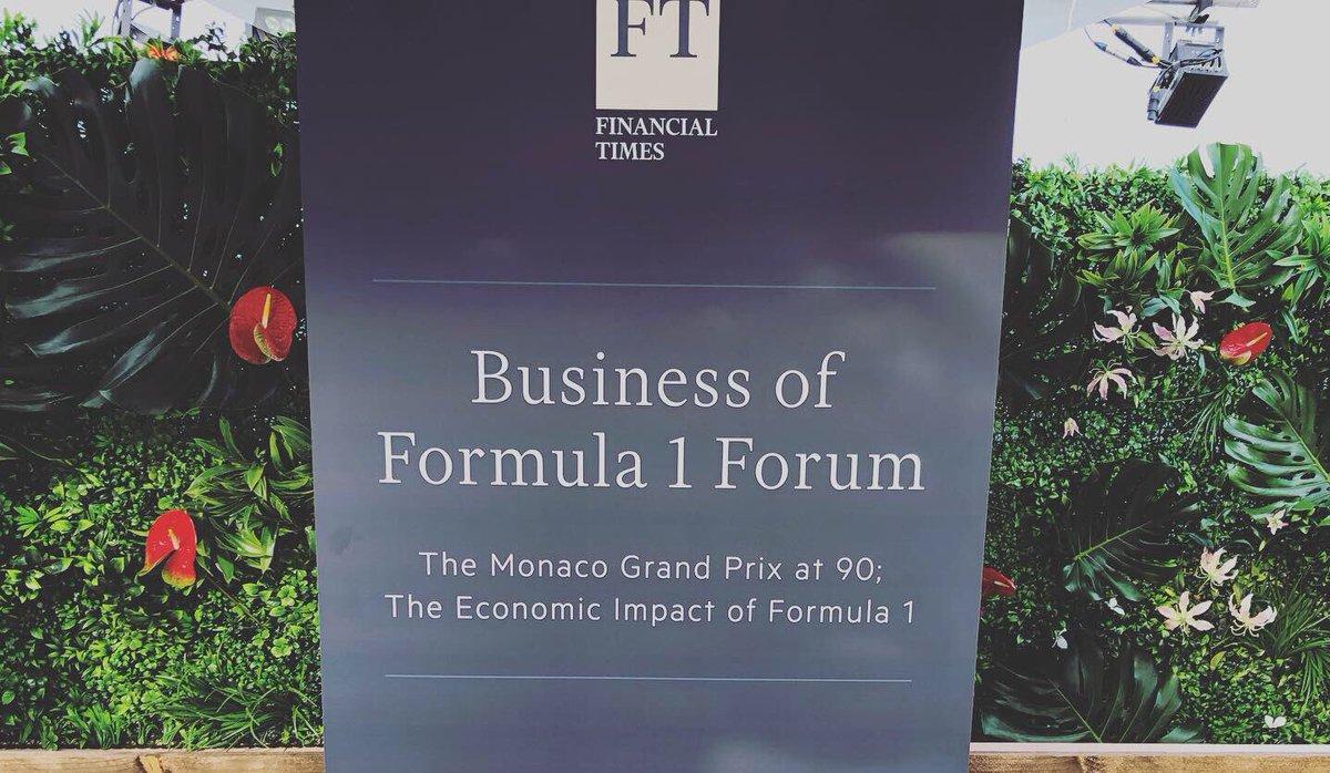 Attending the Business of Formula 1 Forum by @financialtimes #motorsportnetwork @motorsportcom @GPFranceF1 #frenchgp