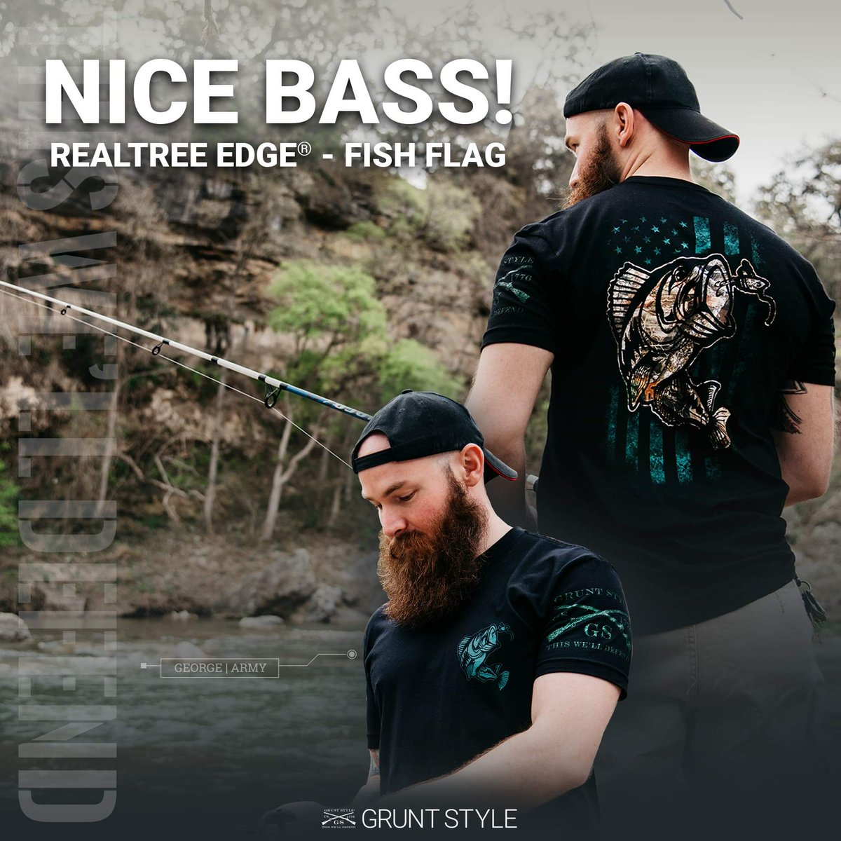 4685dab0 All new Realtree Outdoors® by Grunt Style is here! Gear up here! http://www. gruntstyle.com/pages/realtree #gruntstyle #thiswelldefend #clubgruntstyle  ...