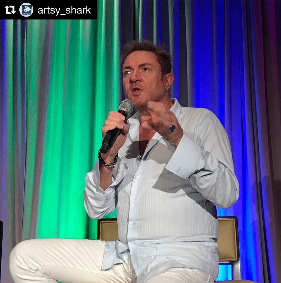 #Repost @artsy_shark  ・・・ Brevard County Cultural Alliance Summit today presents talks for artists, nonprofits and businesses involved in the creative economy. Special lunchtime guest Simon LeBon gives an intimate interview.<br>http://pic.twitter.com/9Woe8BHeK7