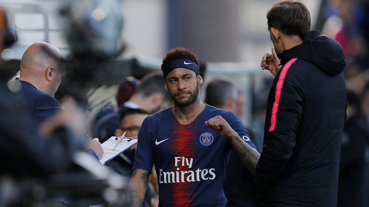 Neymar falta al último entrenamiento del PSG y se marcha sin el permiso de Tuchel https://www.elespanol.com/elbernabeu/futbol/20190523/neymar-entrenamiento-psg-marcha-sin-permiso-tuchel/400710948_0.html?utm_source=twitter&utm_medium=SOCIAL&utm_campaign=bernabeu…