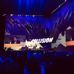 Image for the Tweet beginning: STK has been at @CollisionHQ
