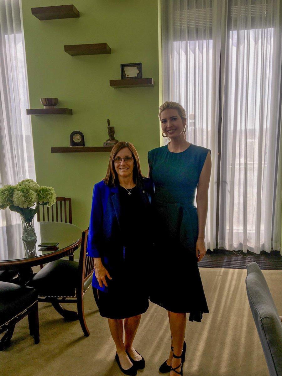 Senator Looks To Ease Burden For >> Martha Mcsally On Twitter I Appreciate Ivankatrump S Efforts To