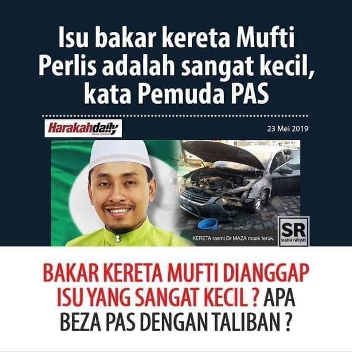 Isu yg SANGAT kecil??? PAS memang parti yg tak sesuai bertapak di Malaysia. Parti agama yg ekstrim, kolot dan ganas!!