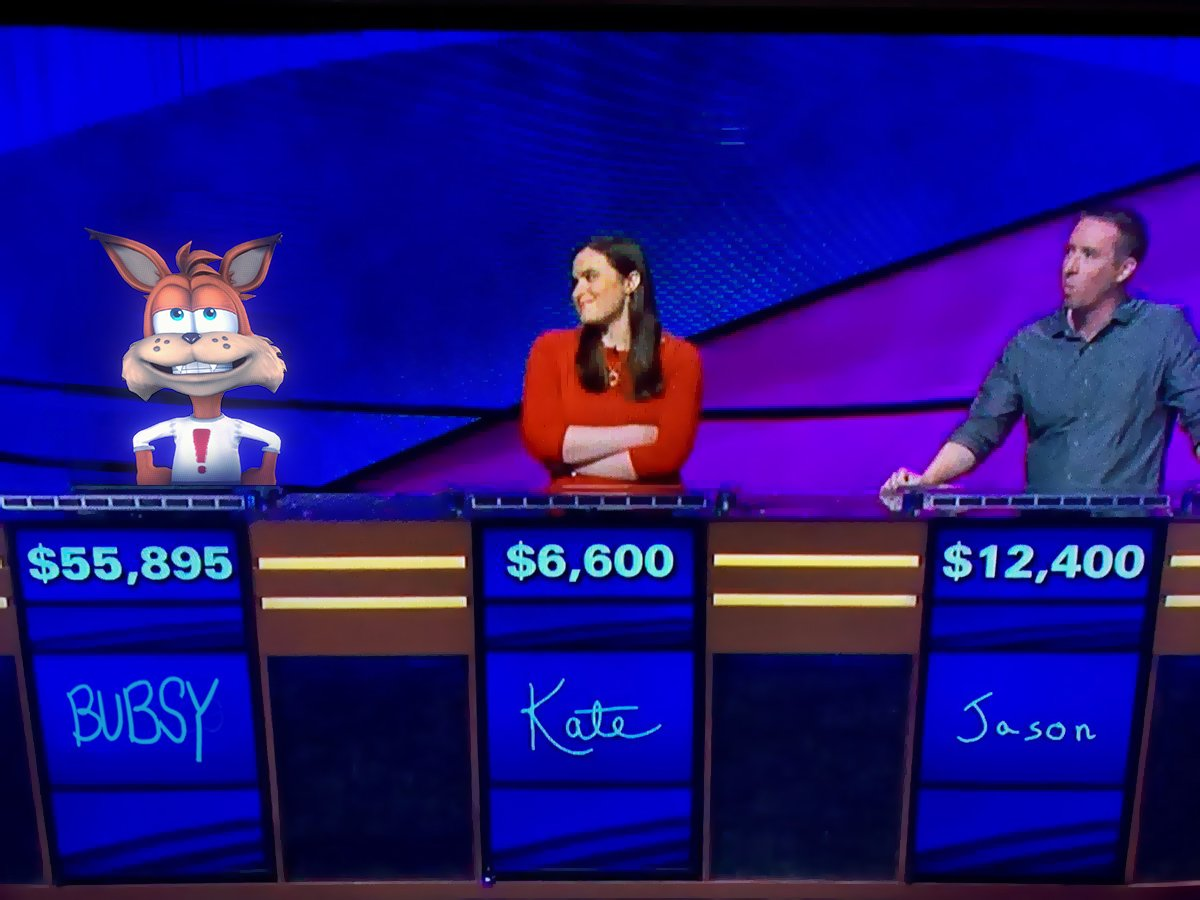 Bubsy's photo on #JeopardyJames