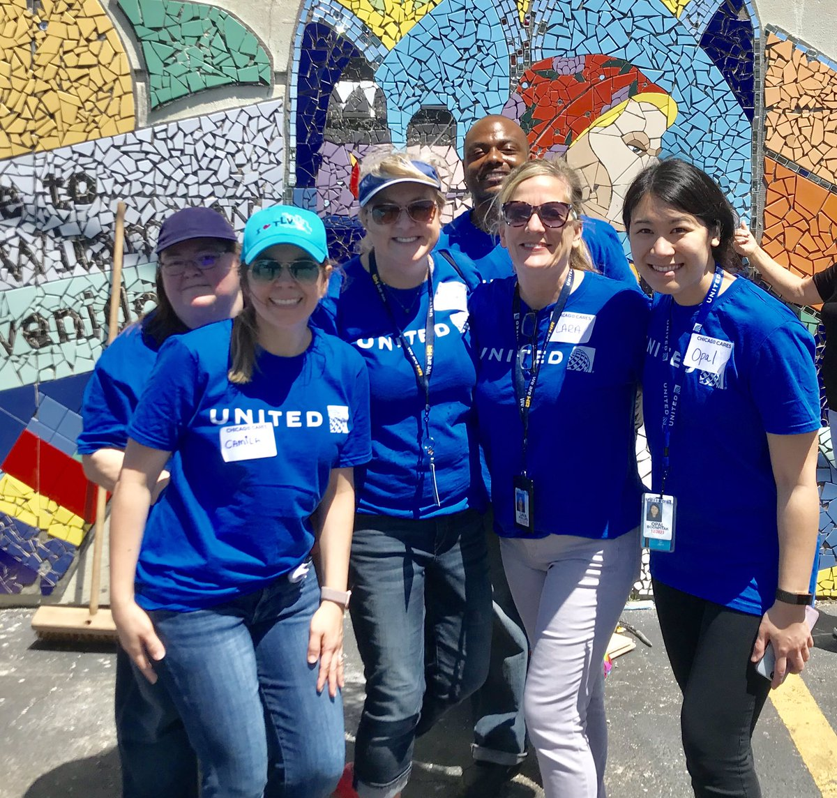 Woot woot! Every Action Counts! What a great day helping in Belmont Cragin @weareunited #beingunited