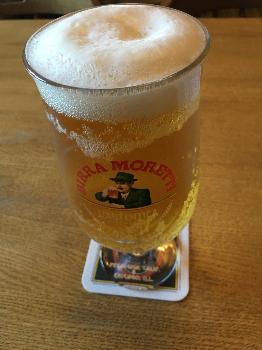 It's beer o'clock. #Beer #Moretti