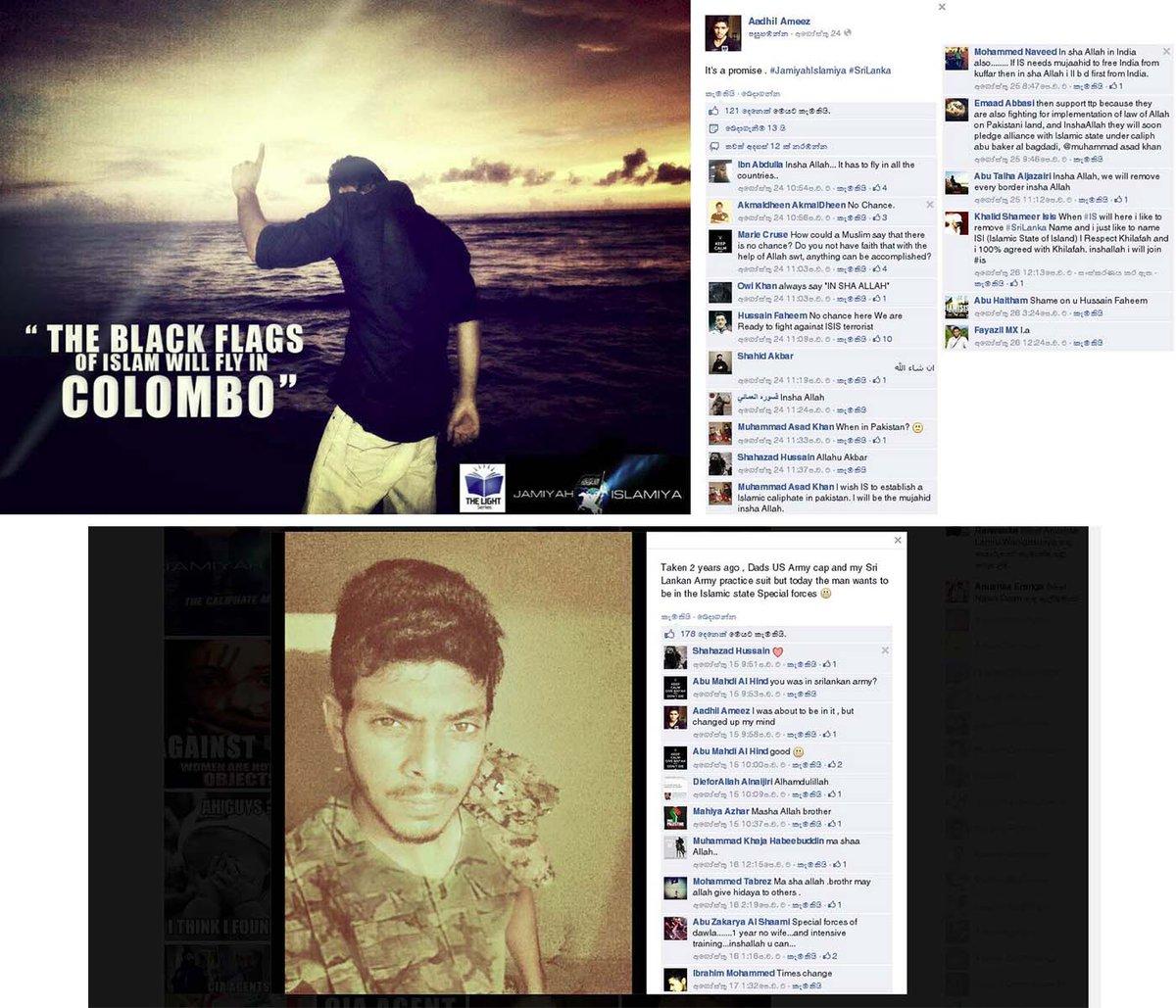 banislamicstateinsrilanka hashtag on Twitter