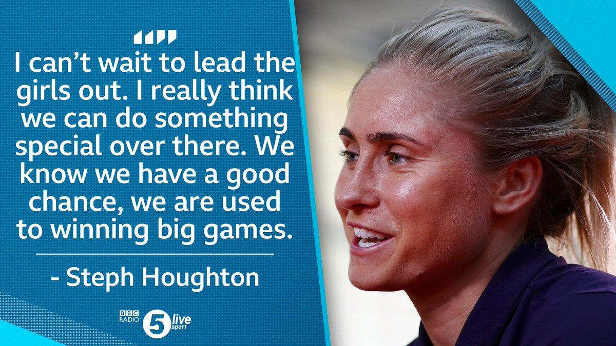 """We've got a phenomenal chance""  @England captain @stephhoughton2 is ready to lead out the #Lionesses.  How far can they go at the #WWC2019?   Listen via @BBCSounds 📲http://bbc.in/2AhzsDX"