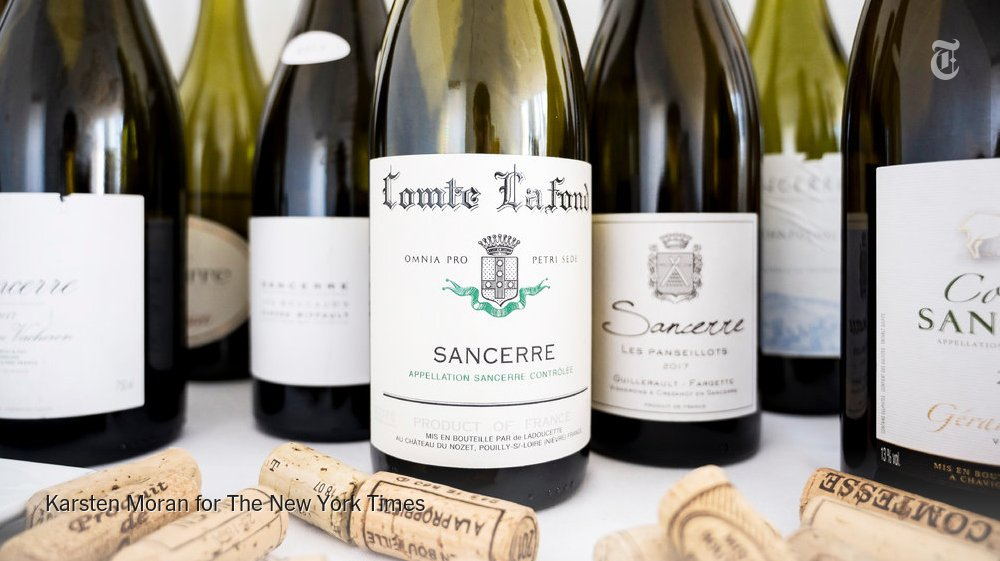 Don't order Sancerre because you know the name. Order it because these bottles are delicious. https://nyti.ms/2HNO1BI