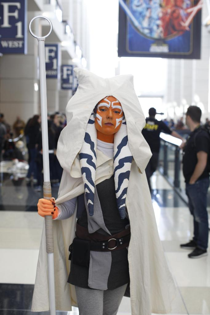 You never know where Ahsoka Tano may make an appearance. #TBT   (Photo by @jayzombie.)<br>http://pic.twitter.com/M0HgcALENo