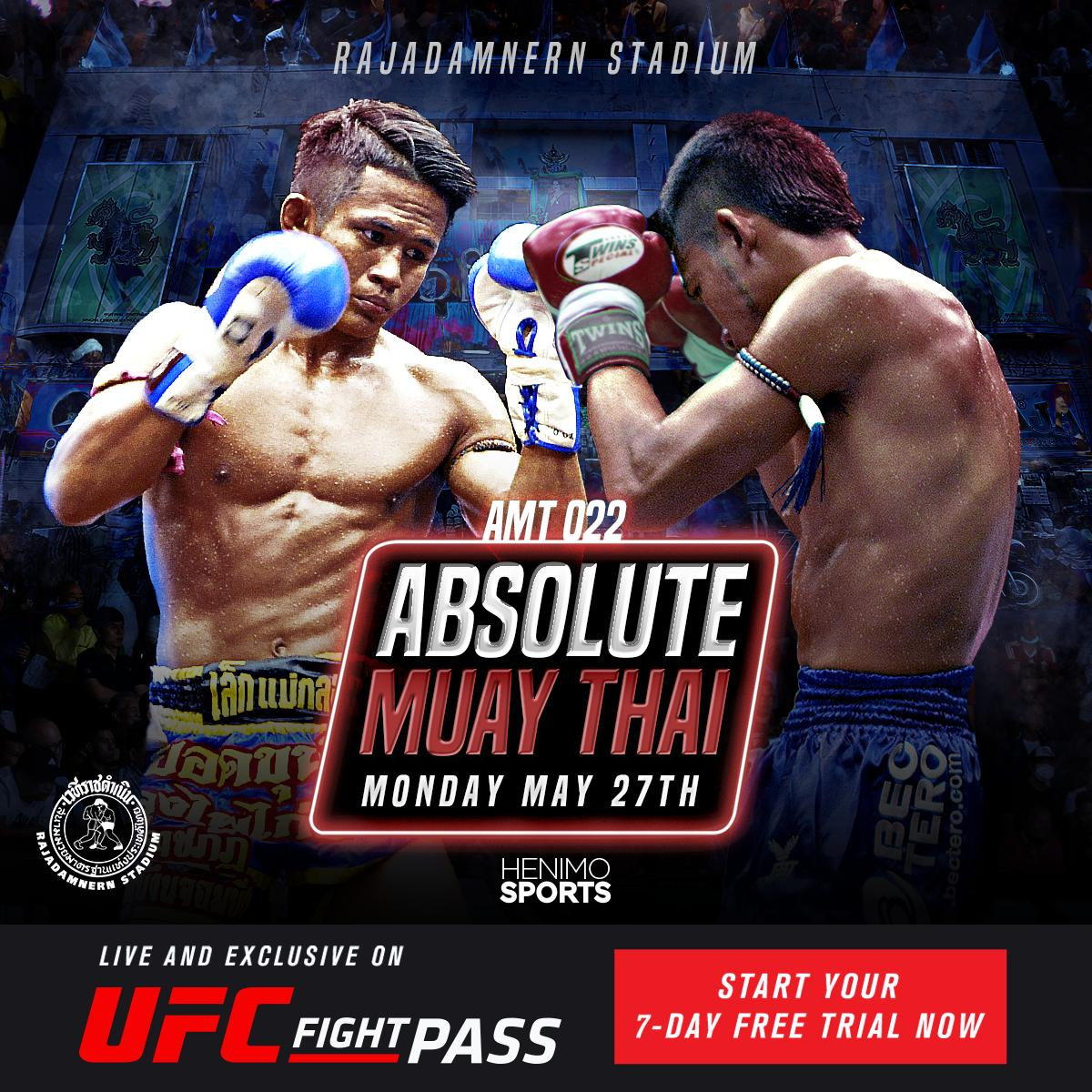 The action doesn't end on Sunday!  We got back to back days of #AbsoluteMuayThai coming up on Monday and Tuesday!