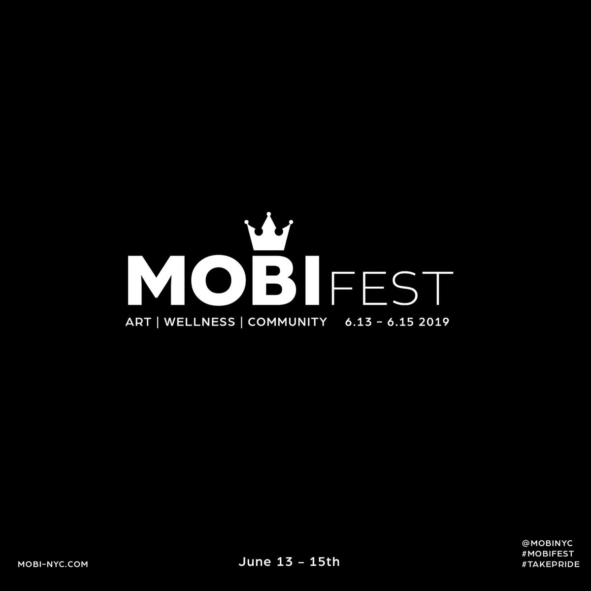 We're less than a month away from #MOBIfest follow mobi-nyc.com to register NOW! #WeAreMOBI 🏆🙌🏽