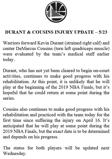 3 Teams Named Favorites For Kevin Durant In Free Agency
