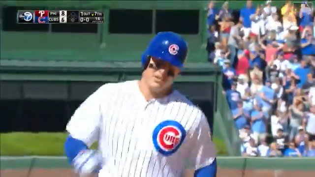 Three hits and three RBI today for @ARizzo44! #TeamRizzo