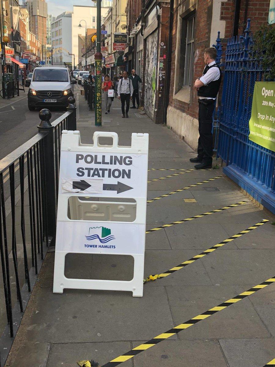 #EuropeanElection2019 #PollingStation #Bricklane #London https://t.co/idQATtbp2R