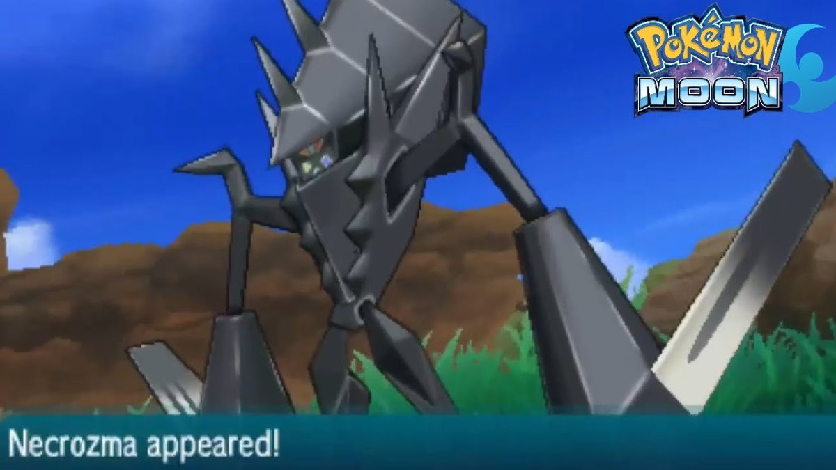 In vanilla SM, after completing the UB sidequest, Necrozma will be found randomly in grass in the center field of Ten Carat Hill, which is not hinted to properly at all, just looking vaguely saying he saw something flying over Alola