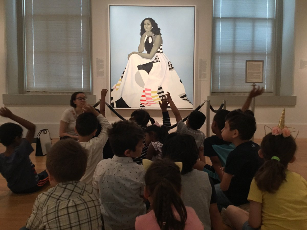 .<a target='_blank' href='http://twitter.com/OakridgeKinder'>@OakridgeKinder</a> learners visited <a target='_blank' href='http://twitter.com/smithsoniannpg'>@smithsoniannpg</a>, integrating <a target='_blank' href='http://twitter.com/APSsocstudies'>@APSsocstudies</a> standards on Famous Americans with <a target='_blank' href='http://twitter.com/APSArts'>@APSArts</a> <a target='_blank' href='http://twitter.com/APSLiteracy'>@APSLiteracy</a> standards! <a target='_blank' href='http://search.twitter.com/search?q=NPGTeach'><a target='_blank' href='https://twitter.com/hashtag/NPGTeach?src=hash'>#NPGTeach</a></a> staff guided small groups & saw portraits of <a target='_blank' href='http://twitter.com/MichelleObama'>@MichelleObama</a>, <a target='_blank' href='http://search.twitter.com/search?q=POTUS1'><a target='_blank' href='https://twitter.com/hashtag/POTUS1?src=hash'>#POTUS1</a></a> & <a target='_blank' href='http://twitter.com/llcoolj'>@llcoolj</a> to name a few! <a target='_blank' href='https://t.co/6YyVQPMzAH'>https://t.co/6YyVQPMzAH</a>